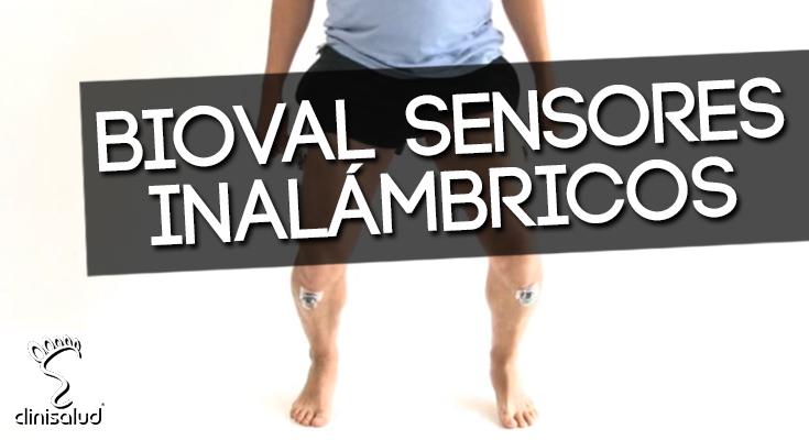 Bioval sensor inalámbrico Clinisalud