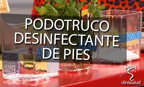 Desinfectante de pies