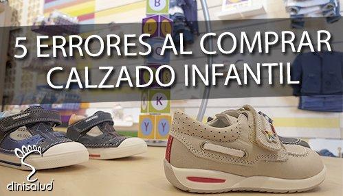 Errores al comprar calzado infantil