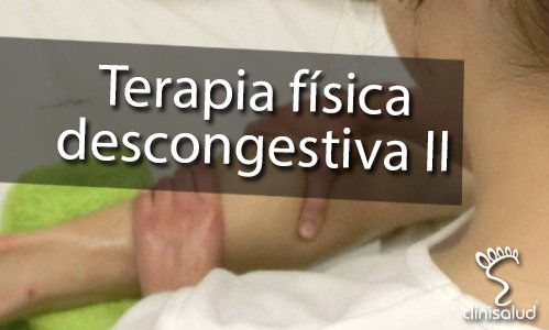 Terapia física descongestiva