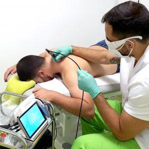 Fisioterapia Albacete con láser